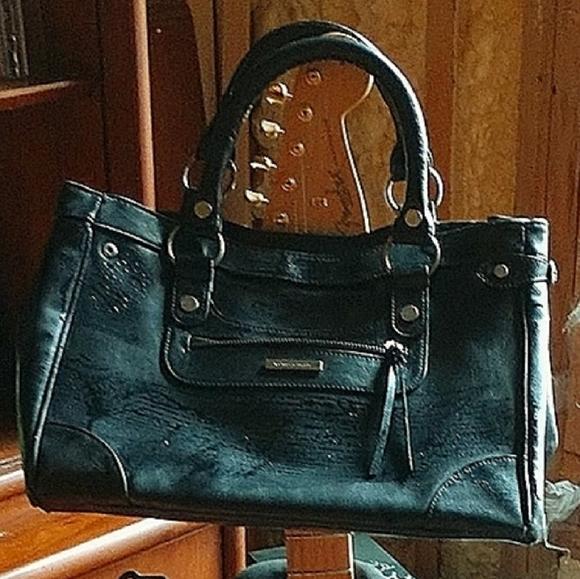 Victoria secret leather handbag